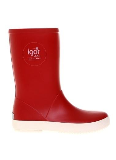 Igor Çizme Kırmızı